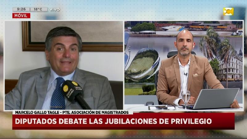 Diputados debate las jubilaciones de privilegio: Marcelo...