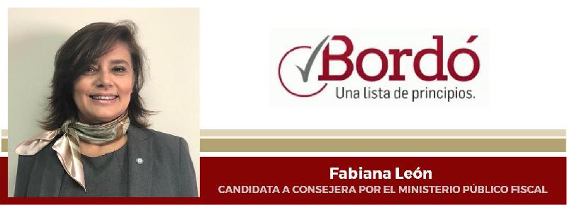 Mensaje de Fabiana León a los integrantes del Ministerio...