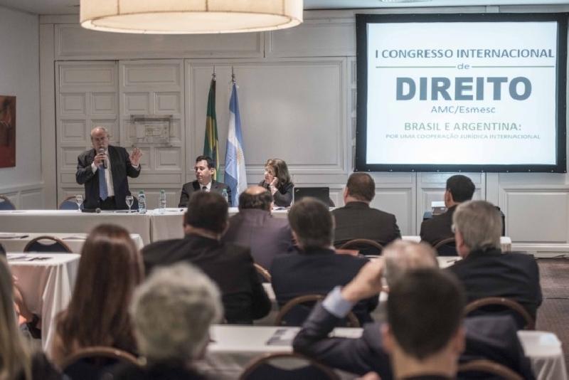 Primer Congreso Internacional de Derecho Argentina-Brasil en...